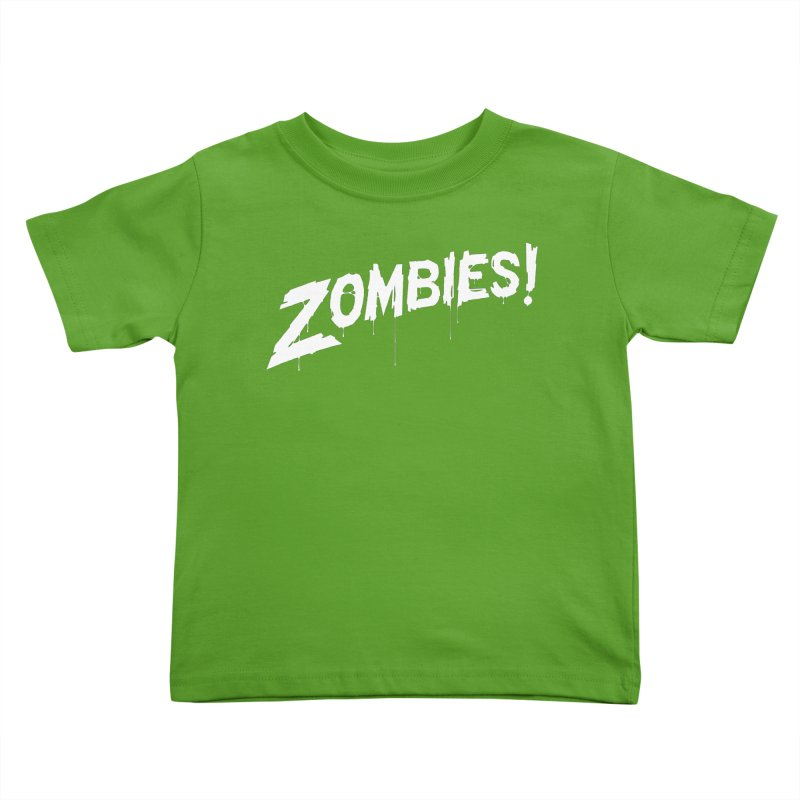 Zombies! Kids Toddler T-Shirt by Mark Gervais
