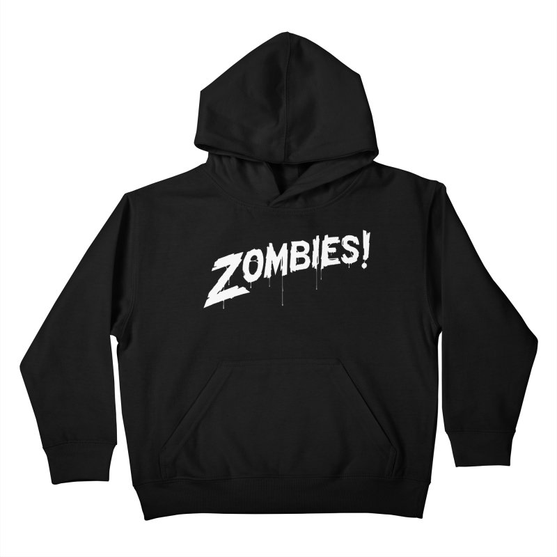 Zombies! Kids Pullover Hoody by Mark Gervais