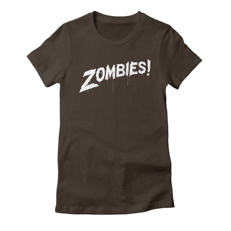 Zombies! Women's T-Shirt by Mark Gervais