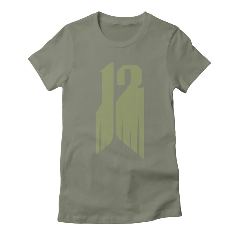 Tall 12 Women's Fitted T-Shirt by Mark Gervais