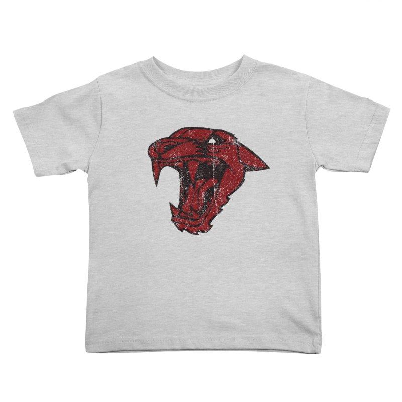 Big Cat Kids Toddler T-Shirt by Mark Gervais