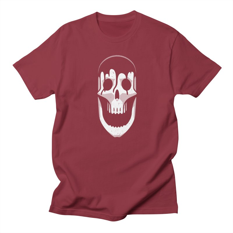 Vacant Skull Men's Regular T-Shirt by Mark Gervais
