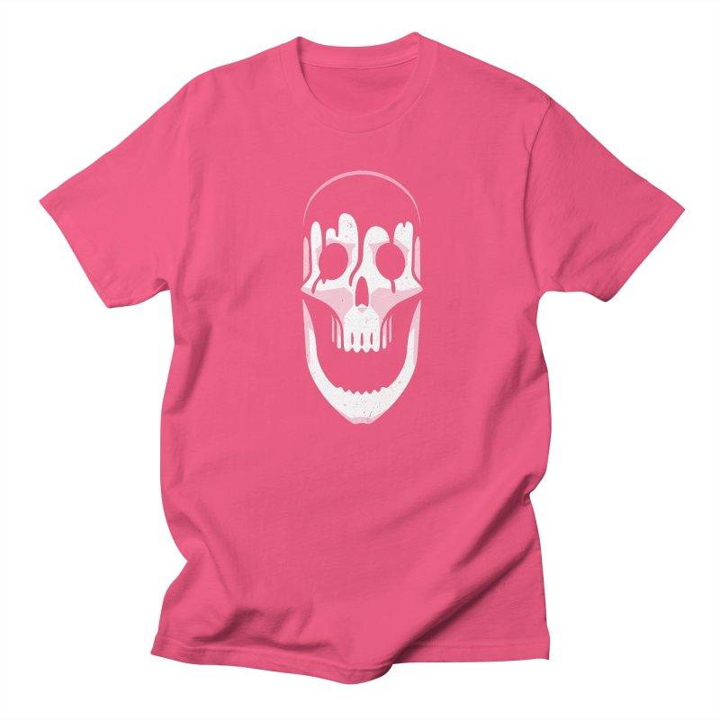 Vacant Skull Men's Regular T-Shirt by Mark Gervais