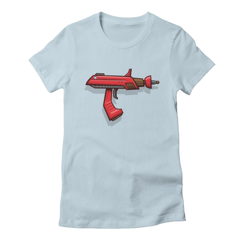 Phaser Women's Fitted T-Shirt by Mark Gervais