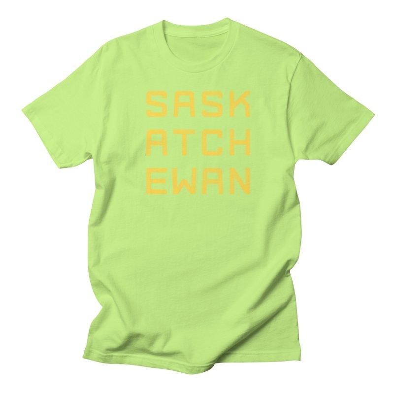 Saskatchewan Men's Regular T-Shirt by Mark Gervais