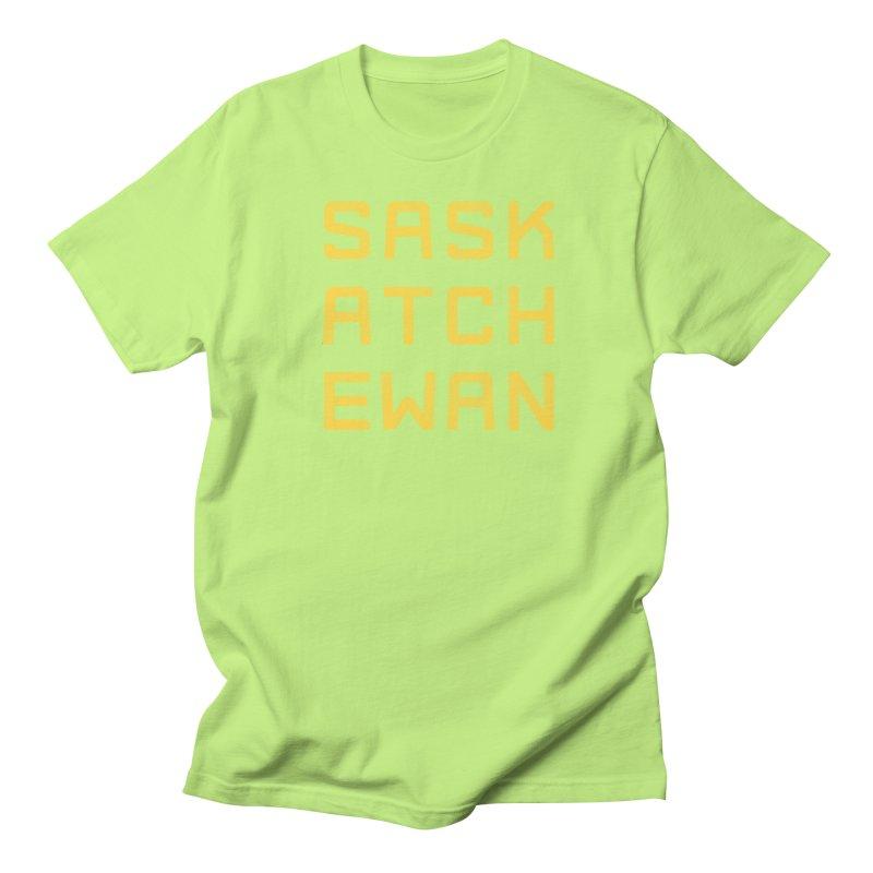 Saskatchewan Men's T-Shirt by Mark Gervais