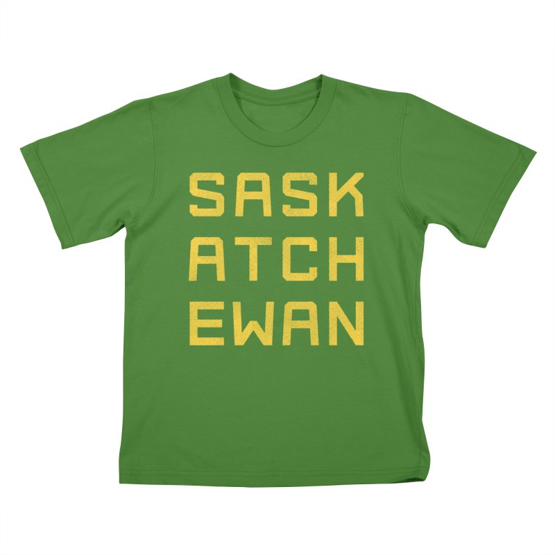 Saskatchewan Kids T-Shirt by Mark Gervais