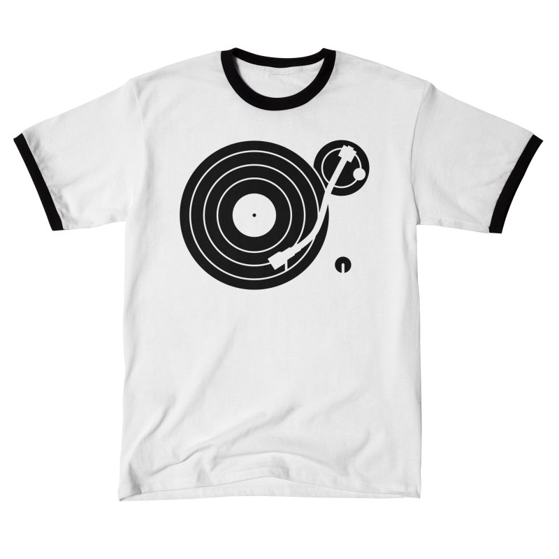 Turntable Record Player Graphic Women's T-Shirt by Mark LaPoint's Artist Shop