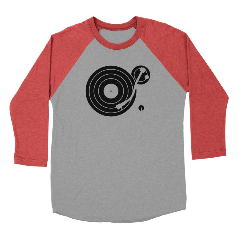 Turntable Record Player Graphic Men's Longsleeve T-Shirt by Mark LaPoint's Artist Shop