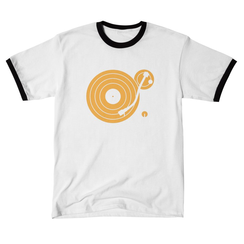 Turntable - Orange Women's T-Shirt by Mark LaPoint's Artist Shop