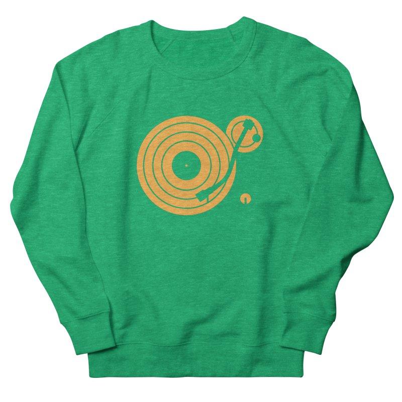 Turntable - Orange Women's Sweatshirt by Mark LaPoint's Artist Shop
