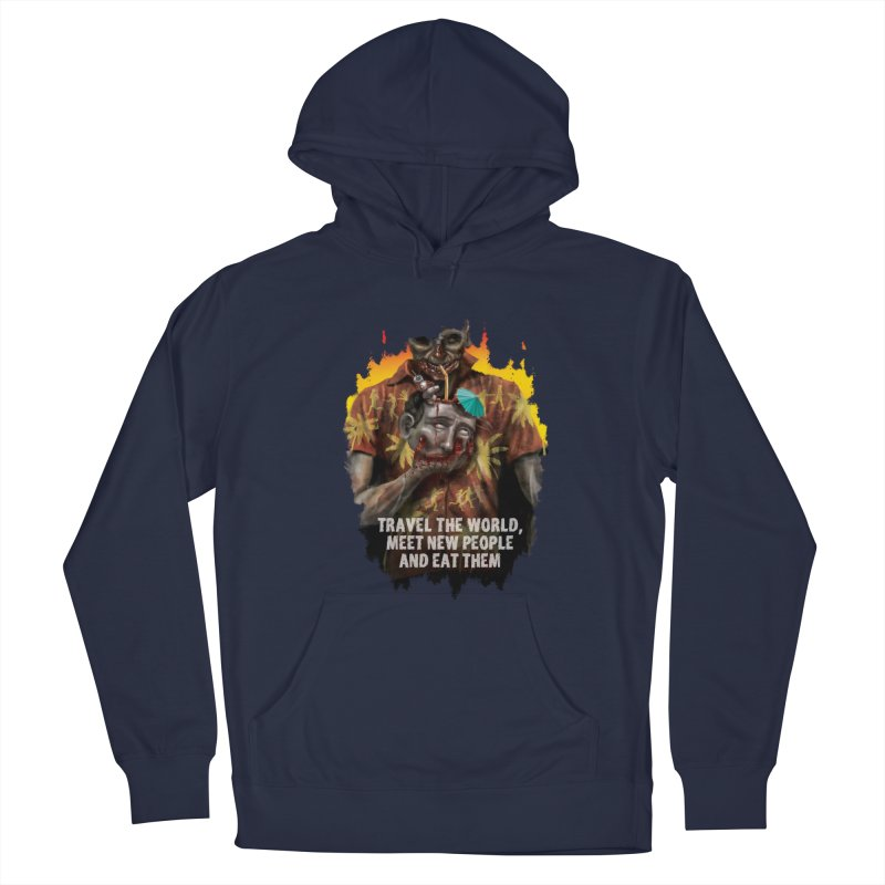 Zombie Vacation Men's Pullover Hoody by markpart2's Artist Shop