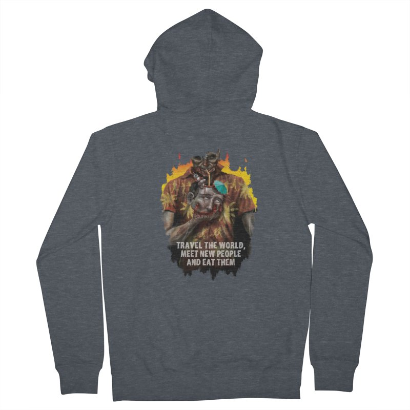 Zombie Vacation Women's Zip-Up Hoody by markpart2's Artist Shop