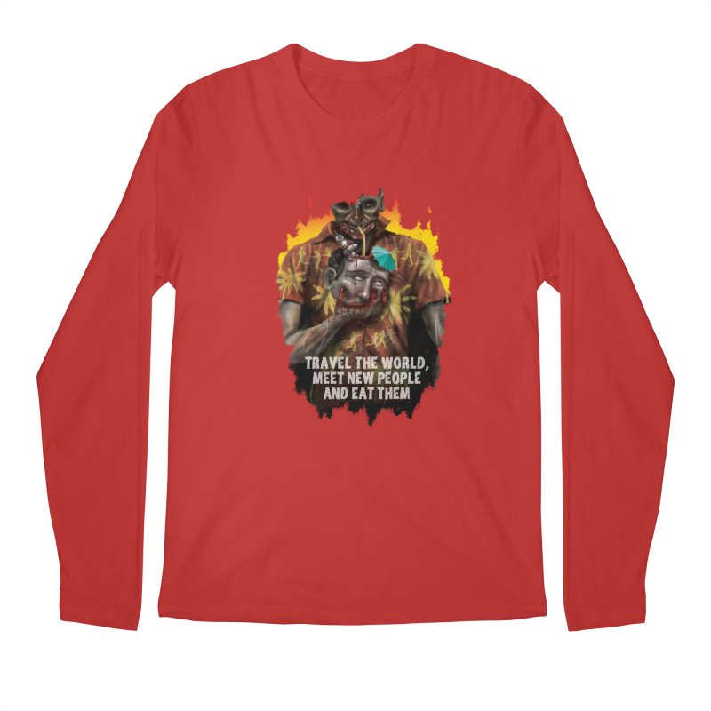 Zombie Vacation Men's Longsleeve T-Shirt by markpart2's Artist Shop