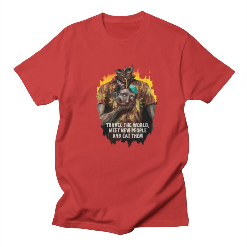 Zombie Vacation Men's T-Shirt by markpart2's Artist Shop