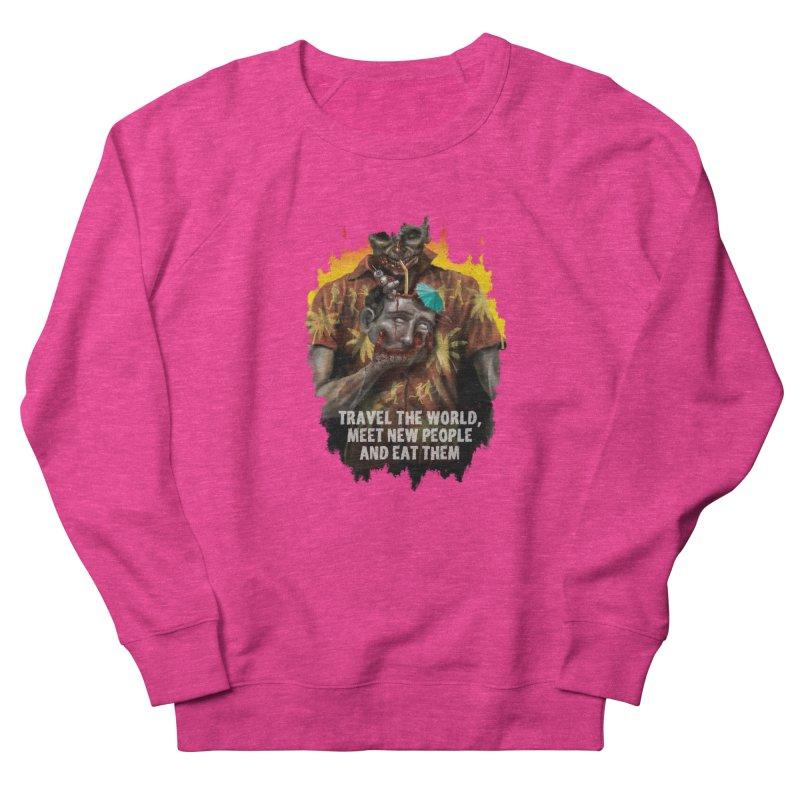 Zombie Vacation Men's Sweatshirt by markpart2's Artist Shop