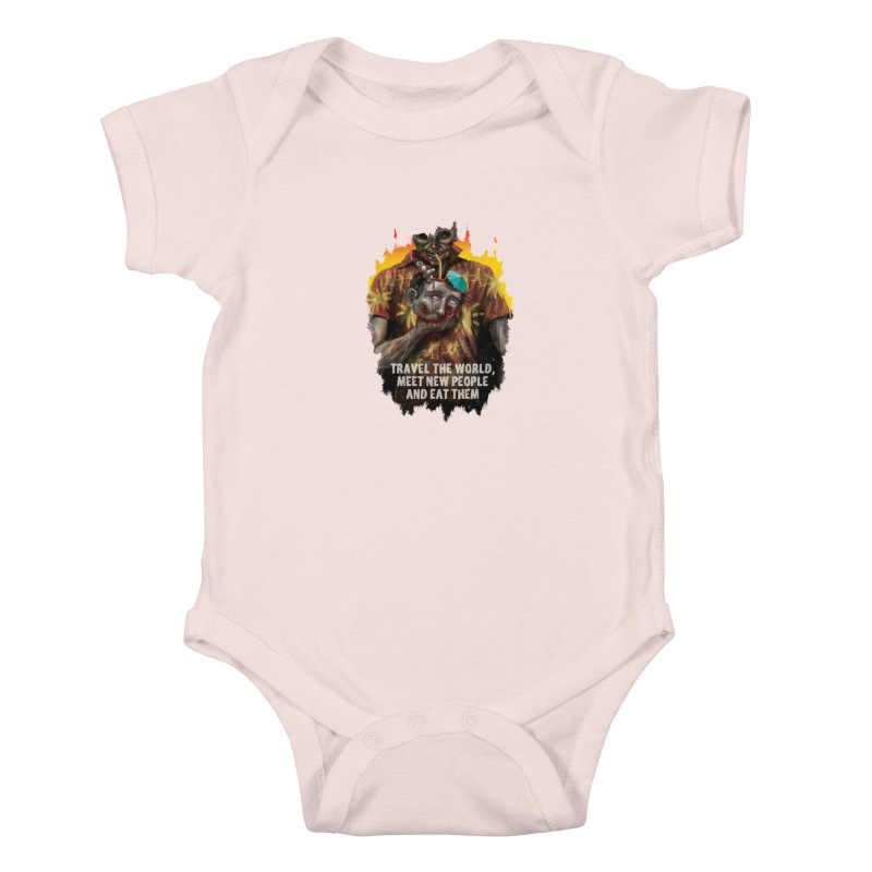 Zombie Vacation Kids Baby Bodysuit by markpart2's Artist Shop