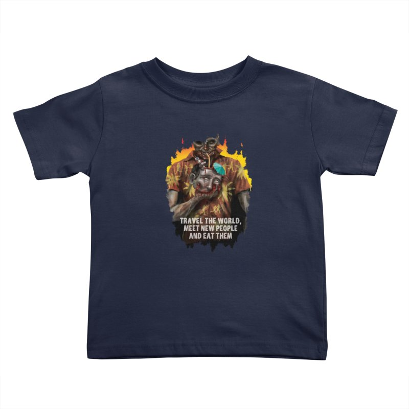 Zombie Vacation Kids Toddler T-Shirt by markpart2's Artist Shop