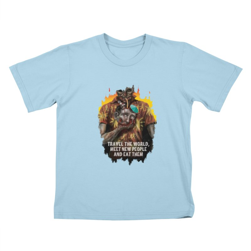 Zombie Vacation Kids T-Shirt by markpart2's Artist Shop