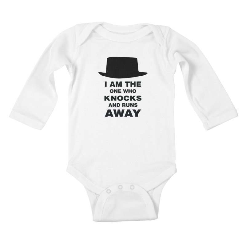 I am the one who knocks Kids Baby Longsleeve Bodysuit by markurz's Artist Shop
