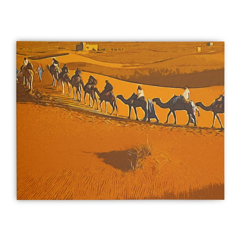 Desert Safari Home Stretched Canvas by markurz's Artist Shop