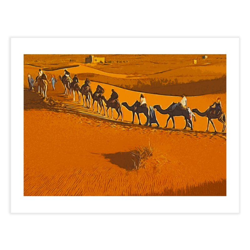 Desert Safari Home Fine Art Print by markurz's Artist Shop