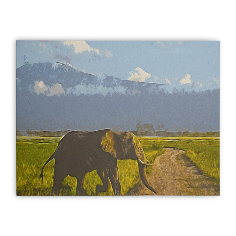 Savannah Home Stretched Canvas by markurz's Artist Shop