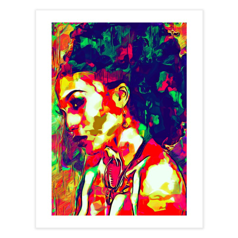 That Girl Edition 1 Home Fine Art Print by markurz's Artist Shop