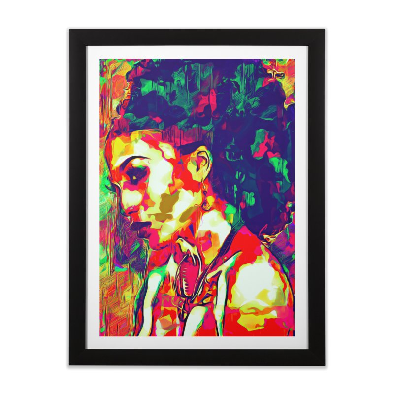 That Girl Edition 1 Home Framed Fine Art Print by markurz's Artist Shop