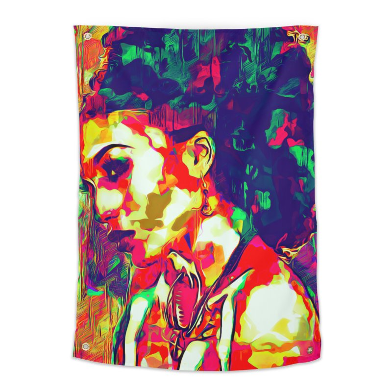 That Girl Edition 1 Home Tapestry by markurz's Artist Shop