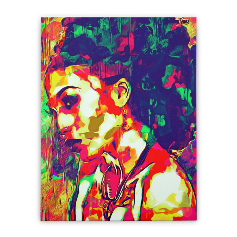 That Girl Edition 1 Home Stretched Canvas by markurz's Artist Shop