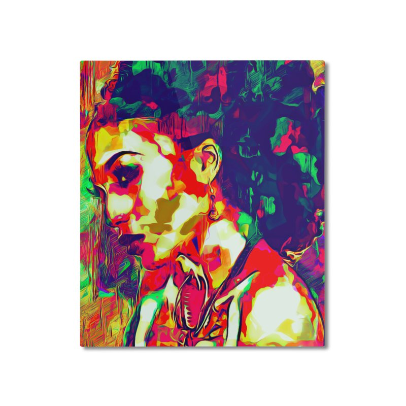 That Girl Edition 1 Home Mounted Aluminum Print by markurz's Artist Shop