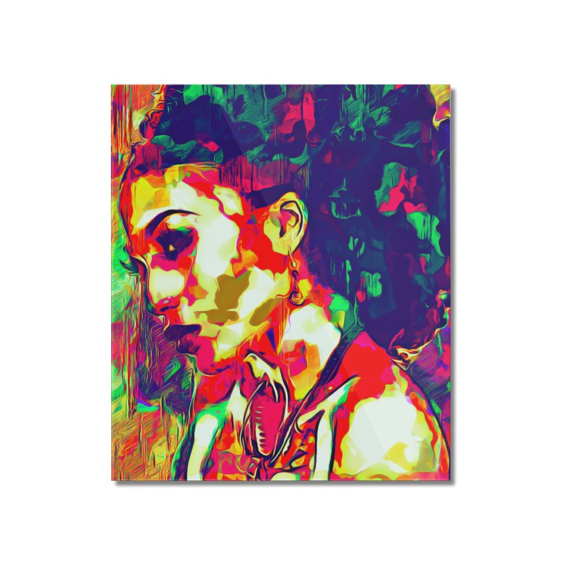 That Girl Edition 1 Home Mounted Acrylic Print by markurz's Artist Shop