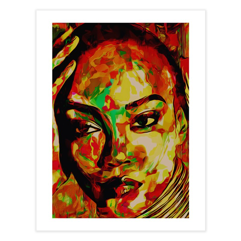 That Girl Edition 2 Home Fine Art Print by markurz's Artist Shop