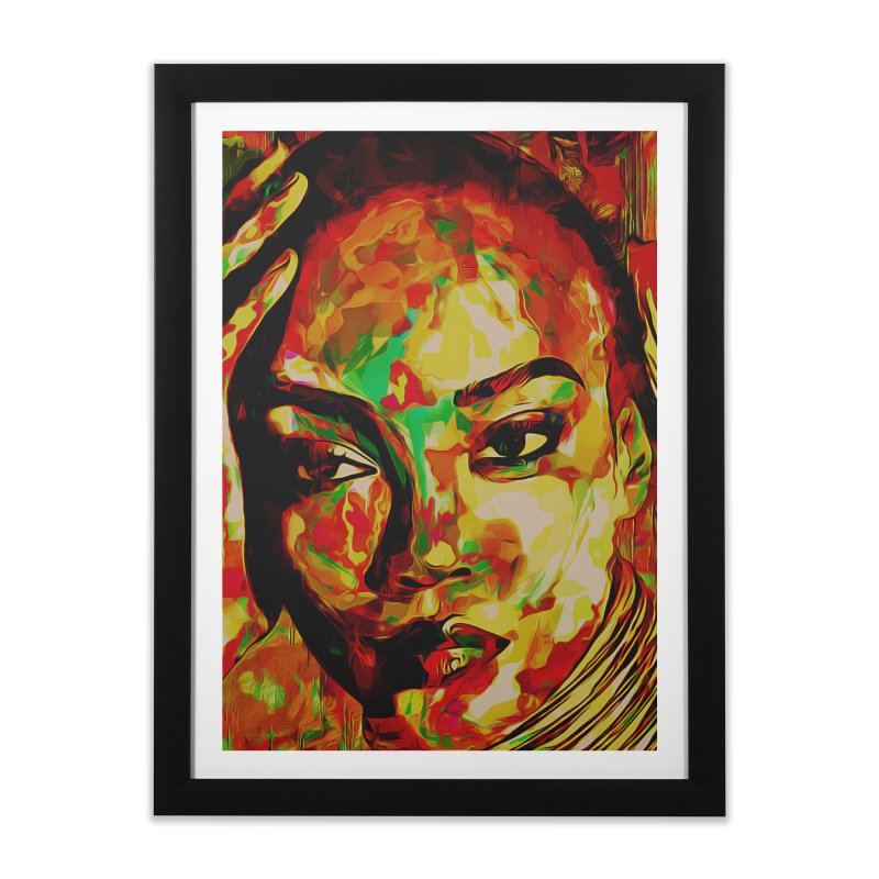 That Girl Edition 2 Home Framed Fine Art Print by markurz's Artist Shop