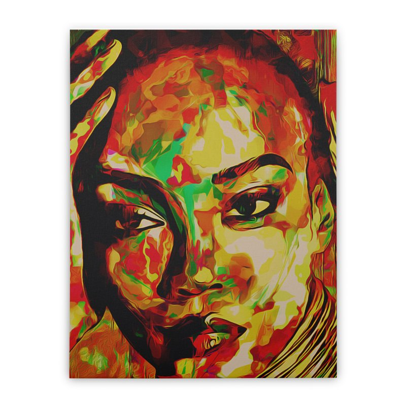 That Girl Edition 2 Home Stretched Canvas by markurz's Artist Shop