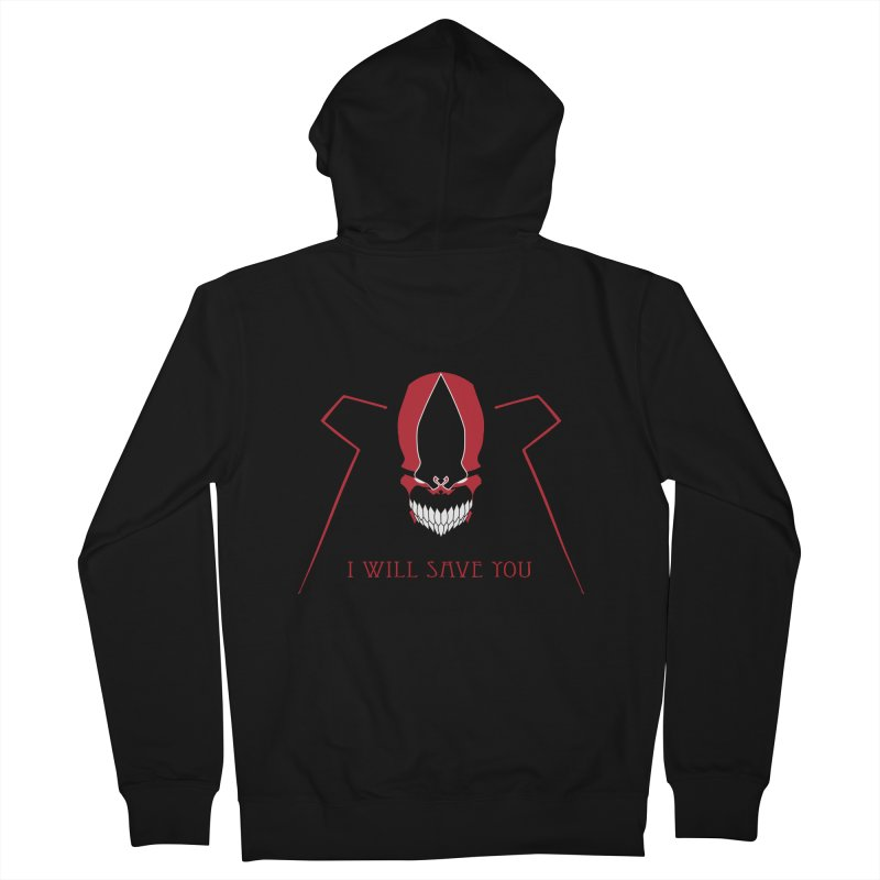 I will Save You Men's French Terry Zip-Up Hoody by markurz's Artist Shop