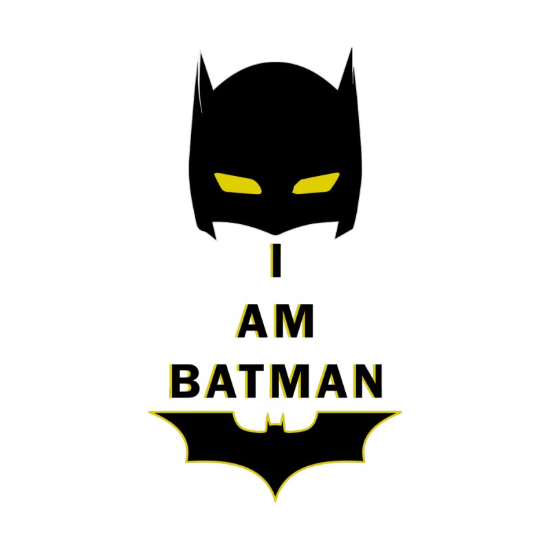 I am Batman Kids Baby T-Shirt by markurz's Artist Shop
