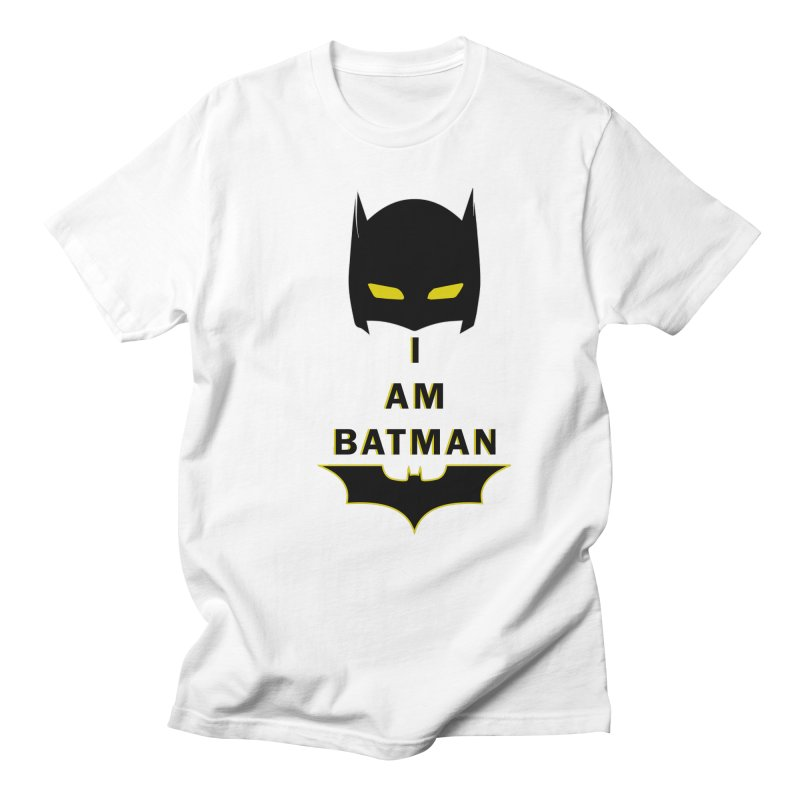 I am Batman Men's T-shirt by markurz's Artist Shop