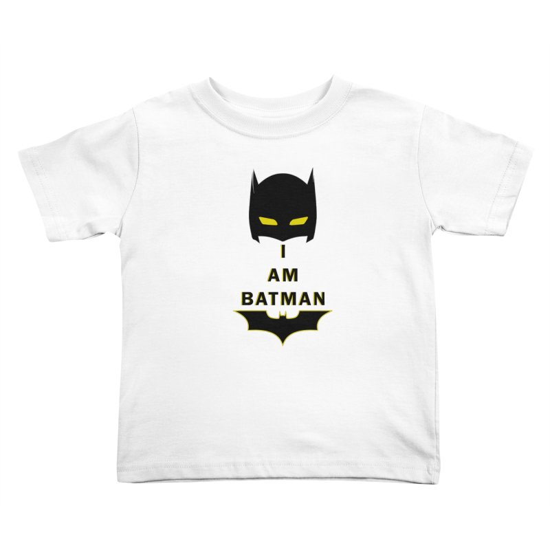 I am Batman Kids Toddler T-Shirt by markurz's Artist Shop