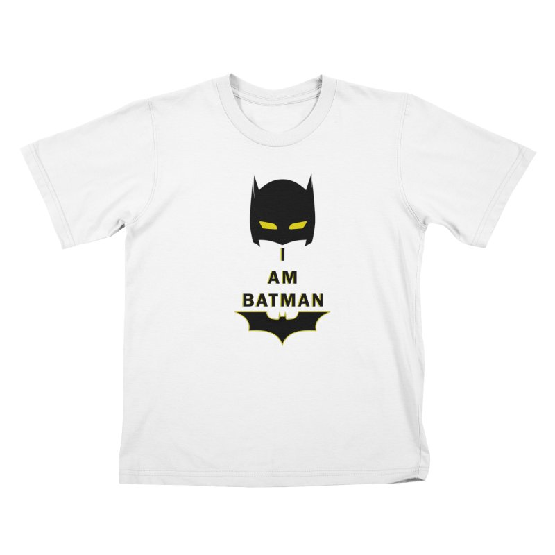 I am Batman Kids T-Shirt by markurz's Artist Shop