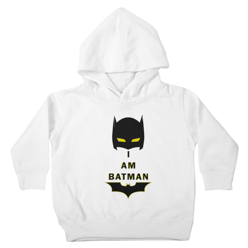 I am Batman Kids Toddler Pullover Hoody by markurz's Artist Shop