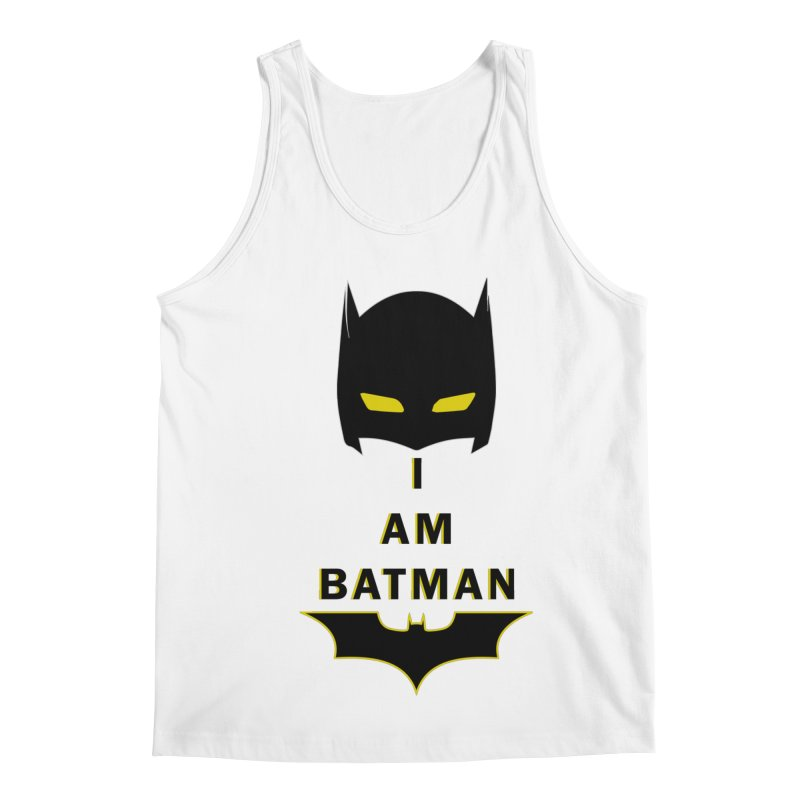 I am Batman Men's Regular Tank by markurz's Artist Shop