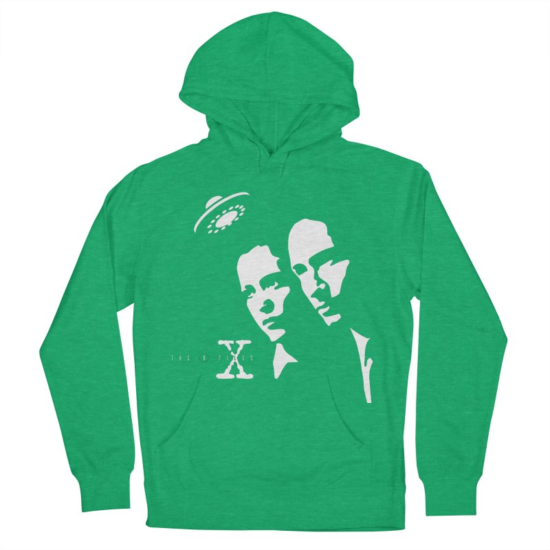 They're Out There Men's French Terry Pullover Hoody by markurz's Artist Shop