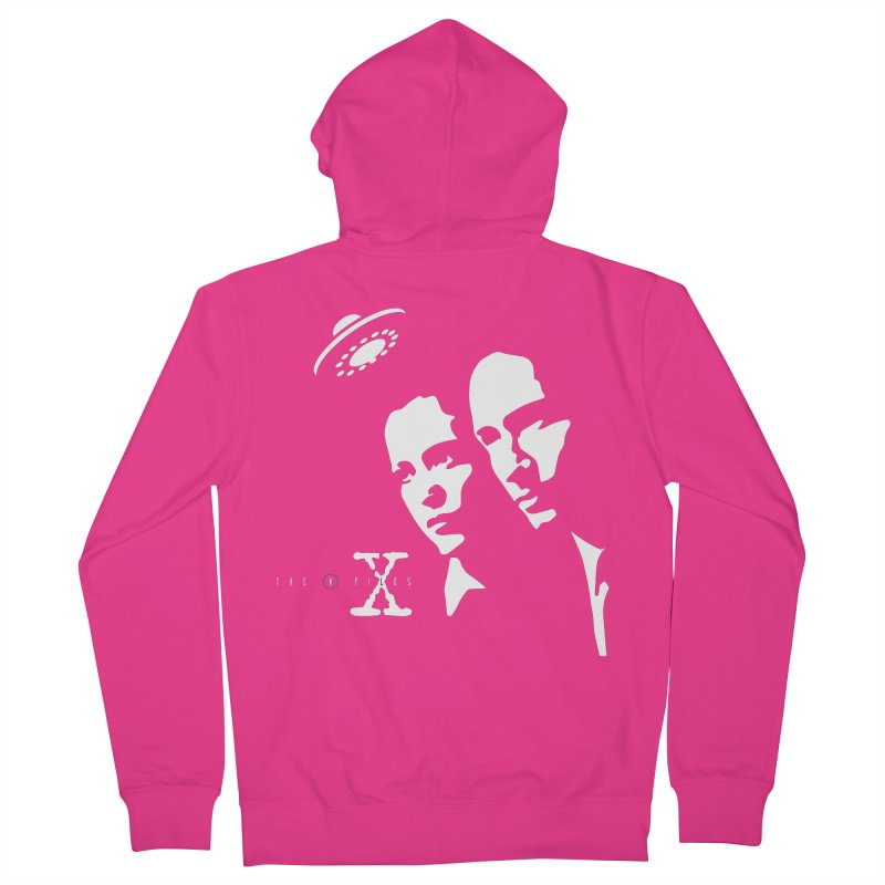 They're Out There Men's Zip-Up Hoody by markurz's Artist Shop
