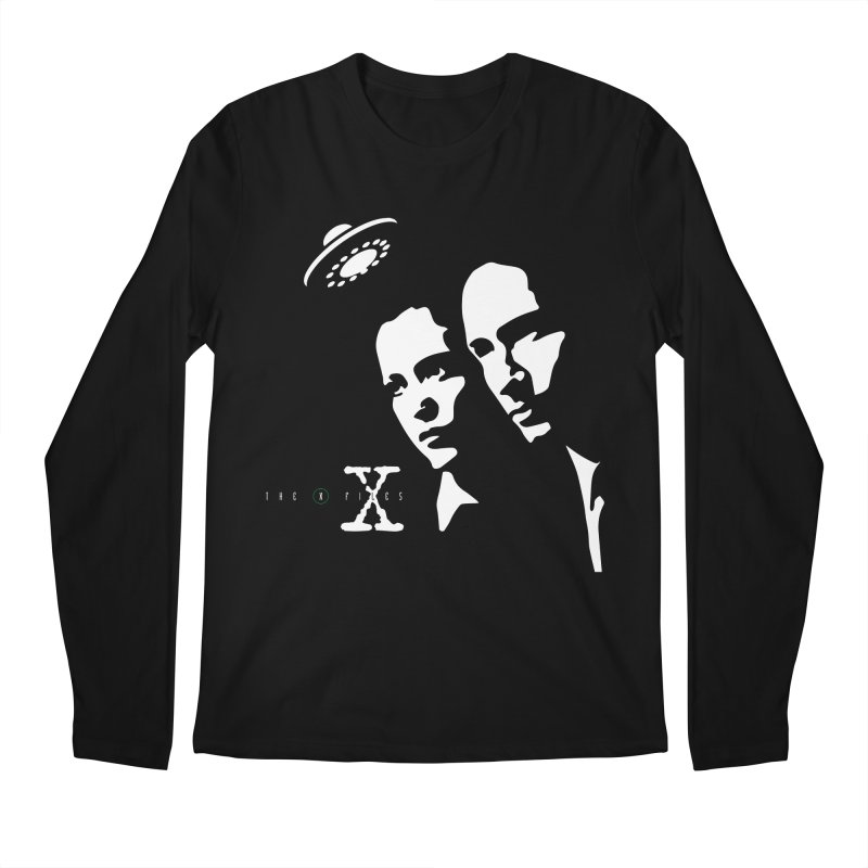 They're Out There Men's Longsleeve T-Shirt by markurz's Artist Shop