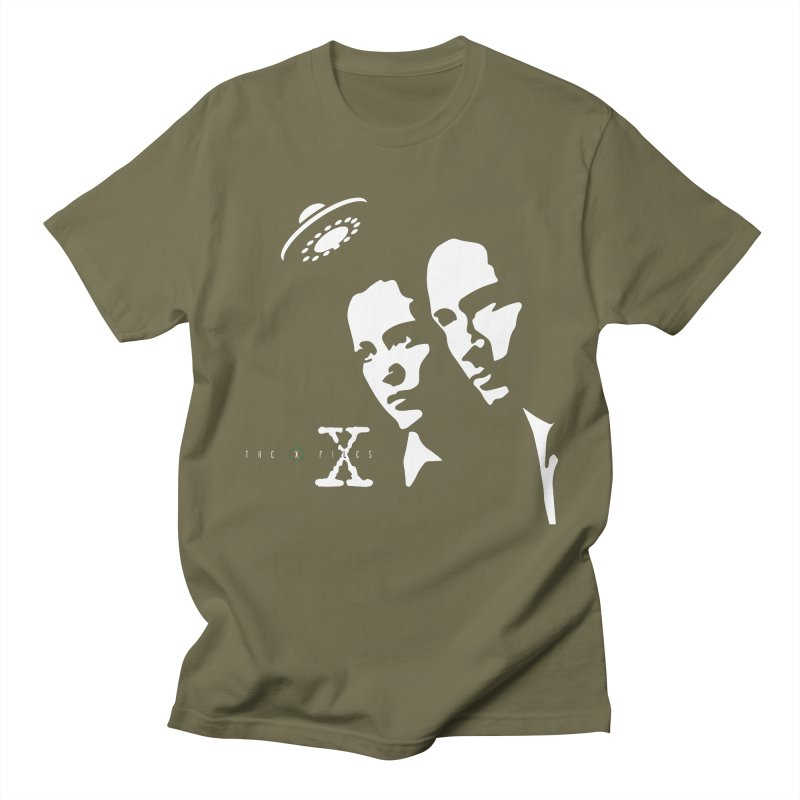 They're Out There Men's T-shirt by markurz's Artist Shop