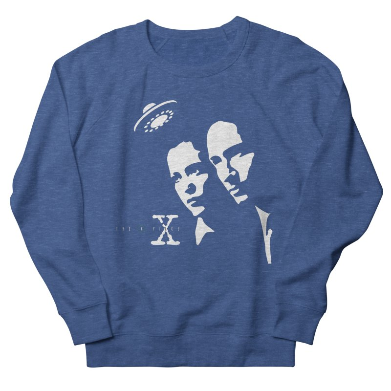 They're Out There Women's French Terry Sweatshirt by markurz's Artist Shop