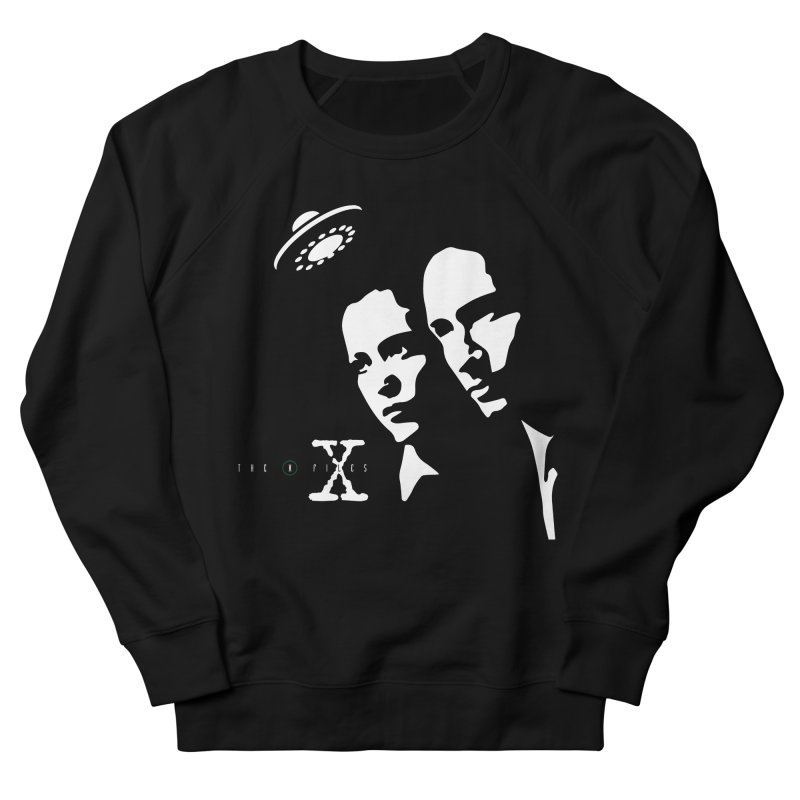 They're Out There Men's French Terry Sweatshirt by markurz's Artist Shop
