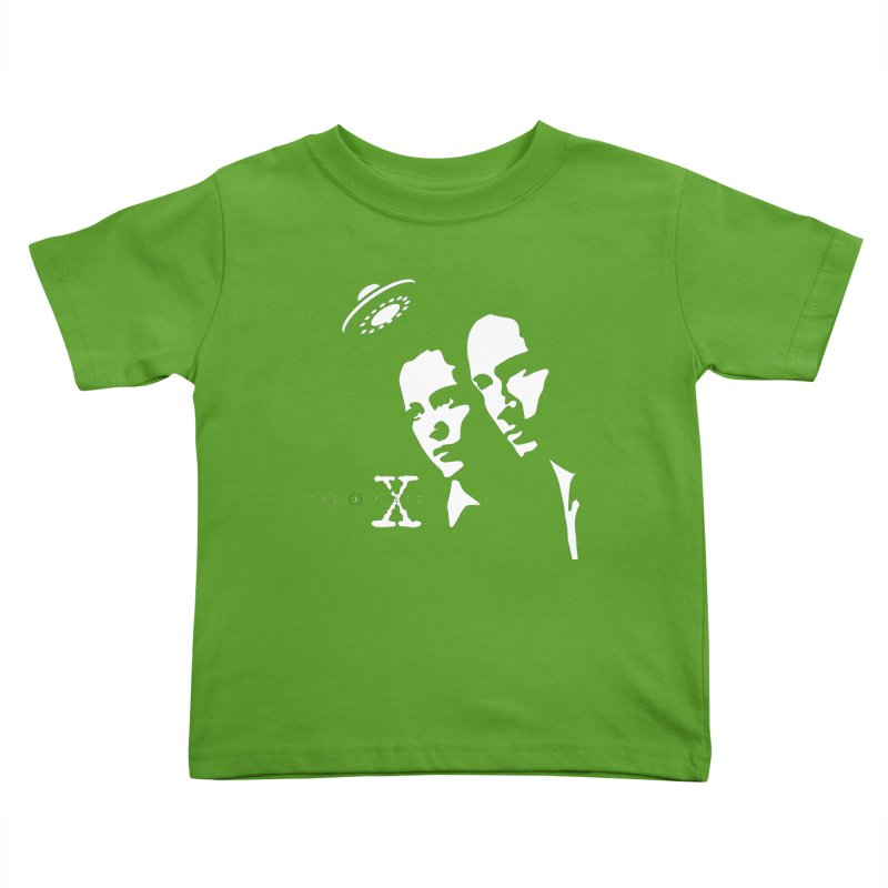 They're Out There Kids Toddler T-Shirt by markurz's Artist Shop